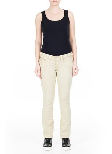 True Religion  Jeans Kadın Kot Pantolon W95572N99 Bej